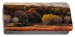 Prairie Autumn Stream Portable Battery Charger