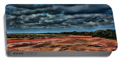 Prairie Dog Town Fork Red River Portable Battery Charger by Diana Mary Sharpton