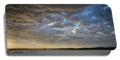 Prairie Skies Portable Battery Charger by Keith Boone