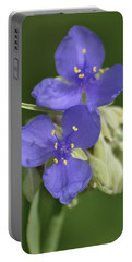 Prairie Wildflower Portable Battery Charger