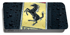 Portable Battery Charger featuring the digital art Prancing Stallion by Douglas Pittman