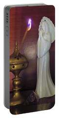 Portable Battery Charger featuring the photograph Prayer Petition by Denise Fulmer