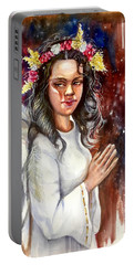 Praying Angel Portable Battery Charger