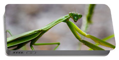 Praying Mantis Looking Portable Battery Charger