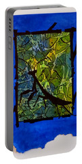 Praying Mantis Silhouette Portable Battery Charger