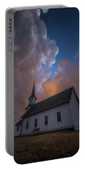 Portable Battery Charger featuring the photograph Preacher by Aaron J Groen
