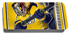 Predneck Hockey Portable Battery Charger
