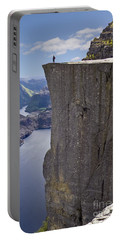 Preikestolen Portable Battery Charger by Heiko Koehrer-Wagner