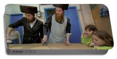 Preparing Matzah, Tel Aviv, Israel Portable Battery Charger