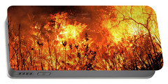 Prescribed Burn Portable Battery Charger