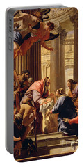 Presentation In The Temple Portable Battery Charger