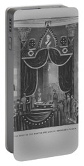 President Abraham Lincoln Lying In State Portable Battery Charger