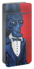 President Alienham Lincoln Portable Battery Charger by Similar Alien