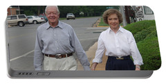 President And Mrs. Jimmy Carter Portable Battery Charger