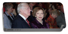 President And Mrs. Jimmy Carter Nobel Celebration Portable Battery Charger