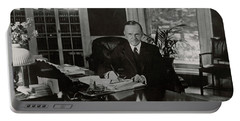 President Calvin Coolidge Portable Battery Charger