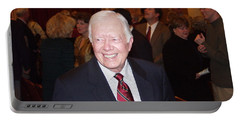 President Jimmy Carter - Nobel Peace Prize Celebration Portable Battery Charger