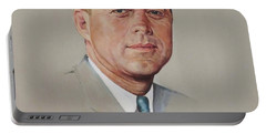 portrait of a President Portable Battery Charger