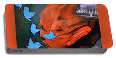 President Of Twitter Portable Battery Charger