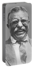 President Teddy Roosevelt Portable Battery Charger