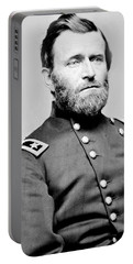 President Ulysses S Grant In Uniform Portable Battery Charger