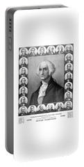Presidents Of The United States 1789-1889 Portable Battery Charger by War Is Hell Store