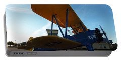 Portable Battery Charger featuring the photograph Preston's Boeing Stearman 000 by Chris Mercer
