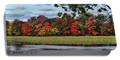 Pretty Autumn Scene Portable Battery Charger