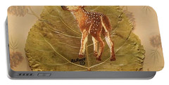 Pretty Baby Deer Portable Battery Charger