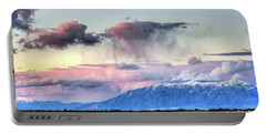 Portable Battery Charger featuring the photograph Pretty In Pink by Bryan Carter