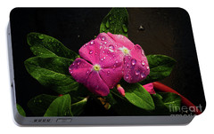 Portable Battery Charger featuring the photograph Pretty In Pink by Douglas Stucky
