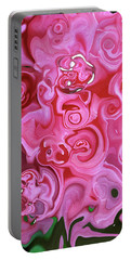 Portable Battery Charger featuring the photograph Pretty In Pink by JoAnn Lense