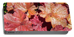 Portable Battery Charger featuring the photograph Pretty Leaves by Stephanie Moore
