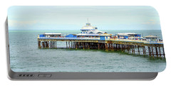 Pretty Llandudno Pier Portable Battery Charger