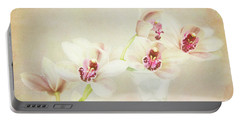 Pretty Orchids Portable Battery Charger