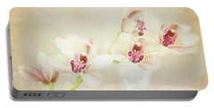 Portable Battery Charger featuring the photograph Pretty Orchids by Kim Andelkovic