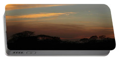 Portable Battery Charger featuring the photograph Pretty Pastel Sunset by Ellen Barron O'Reilly