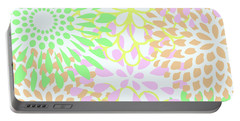 Pretty Pastels Portable Battery Charger by Inspired Arts