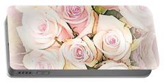 Pretty Roses Portable Battery Charger
