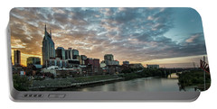 Pretty Sky And Nashville Skyline Portable Battery Charger