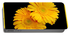Pretty Yellow Gerbers Portable Battery Charger