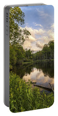 Price Lake Sunset - Blue Ridge Parkway Portable Battery Charger