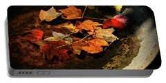 Portable Battery Charger featuring the photograph Priceless Leaves Fall by Reid Callaway