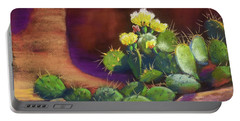 Pricklies On A Ledge Portable Battery Charger