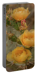 Prickly Pear Blossom Trio Portable Battery Charger
