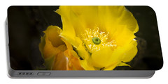 Prickly Pear Cactus Bloom Portable Battery Charger