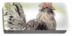 Pride Of A Rooster Portable Battery Charger