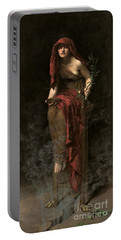 Priestess Of Delphi Portable Battery Charger
