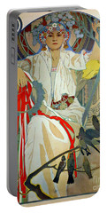Portable Battery Charger featuring the photograph Primavera 1914 by Padre Art