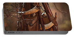 Primitive Arsenal Portable Battery Charger by Kim Henderson